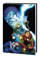 AVENGERS: THE CROSSING OMNIBUS HC SCHERBERGER COVER
