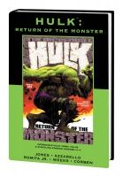 HULK: RETURN OF THE MONSTER PREMIERE HC - VARIANT EDITION VOL. 90 (DM ONLY)