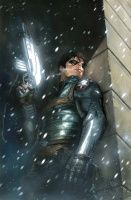 WINTER SOLDIER #1  DELL'OTTO VARIANT COVER
