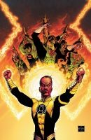 ABSOLUTE GREEN LANTERN: SINESTRO CORPS WAR HC