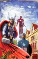 Avengers Assemble #2 (Avengers Art Appreciation Variant)
