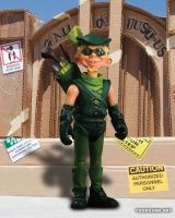 "MAD ""JUST-US"" LEAGUE OF STUPID HEROES SERIES 1 - Green Arrow"