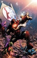 GREEN LANTERN RED LANTERNS #10