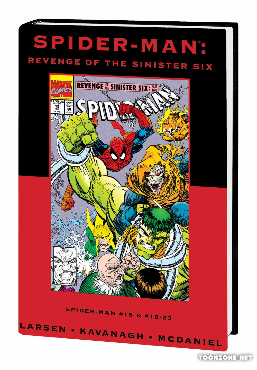 SPIDER-MAN: REVENGE OF THE SINISTER SIX PREMIERE HC — VARIANT EDITION VOL. 103 (DM ONLY)
