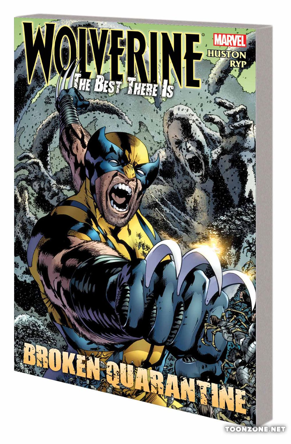 WOLVERINE: THE BEST THERE IS — BROKEN QUARANTINE TPB