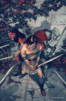JOHN CARTER: THE GODS OF MARS #4 (of 5)