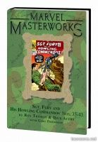 MARVEL MASTERWORKS: SGT. FURY VOL. 4 HC — VARIANT EDITION VOL. 187 (DM ONLY)