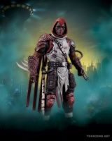 BATMAN: ARKHAM CITY: SERIES 3 ACTION FIGURES - AZRAEL