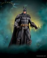 BATMAN: ARKHAM CITY: SERIES 3 ACTION FIGURES - BATMAN