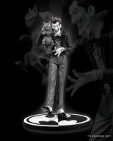 THE JOKER STATUE BY BRIAN BOLLAND