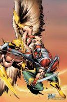 THE SAVAGE HAWKMAN #12