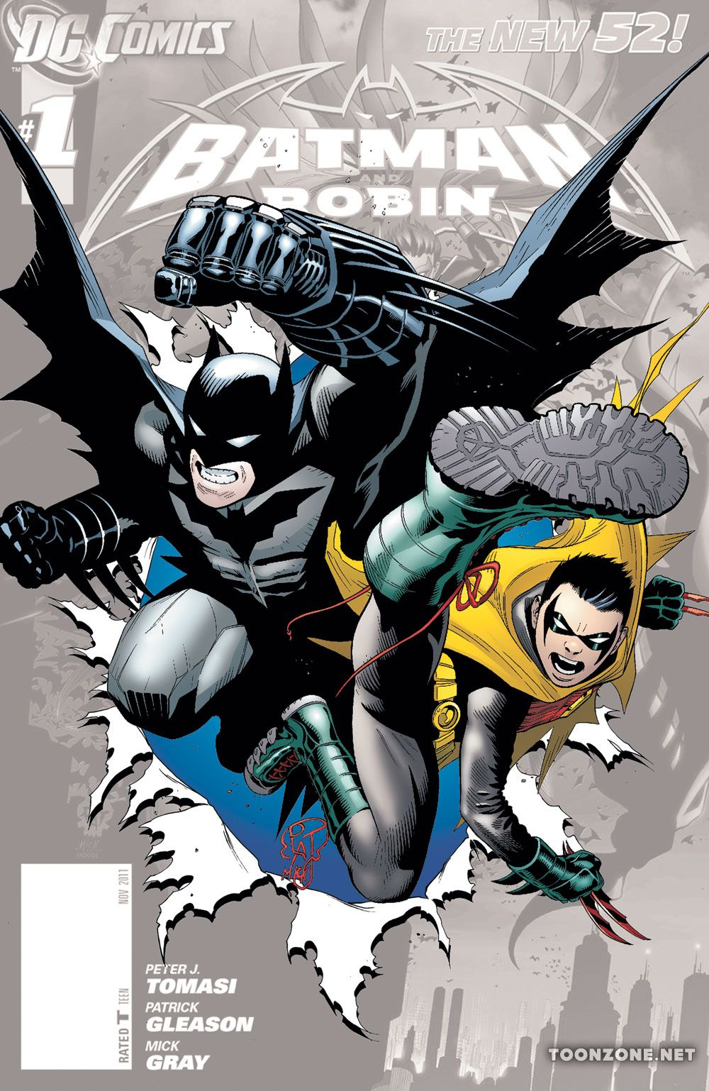 BATMAN AND ROBIN #0