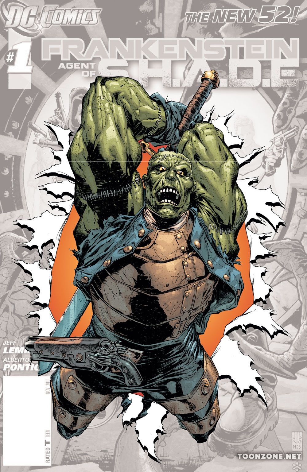 FRANKENSTEIN, AGENT OF S.H.A.D.E. #0