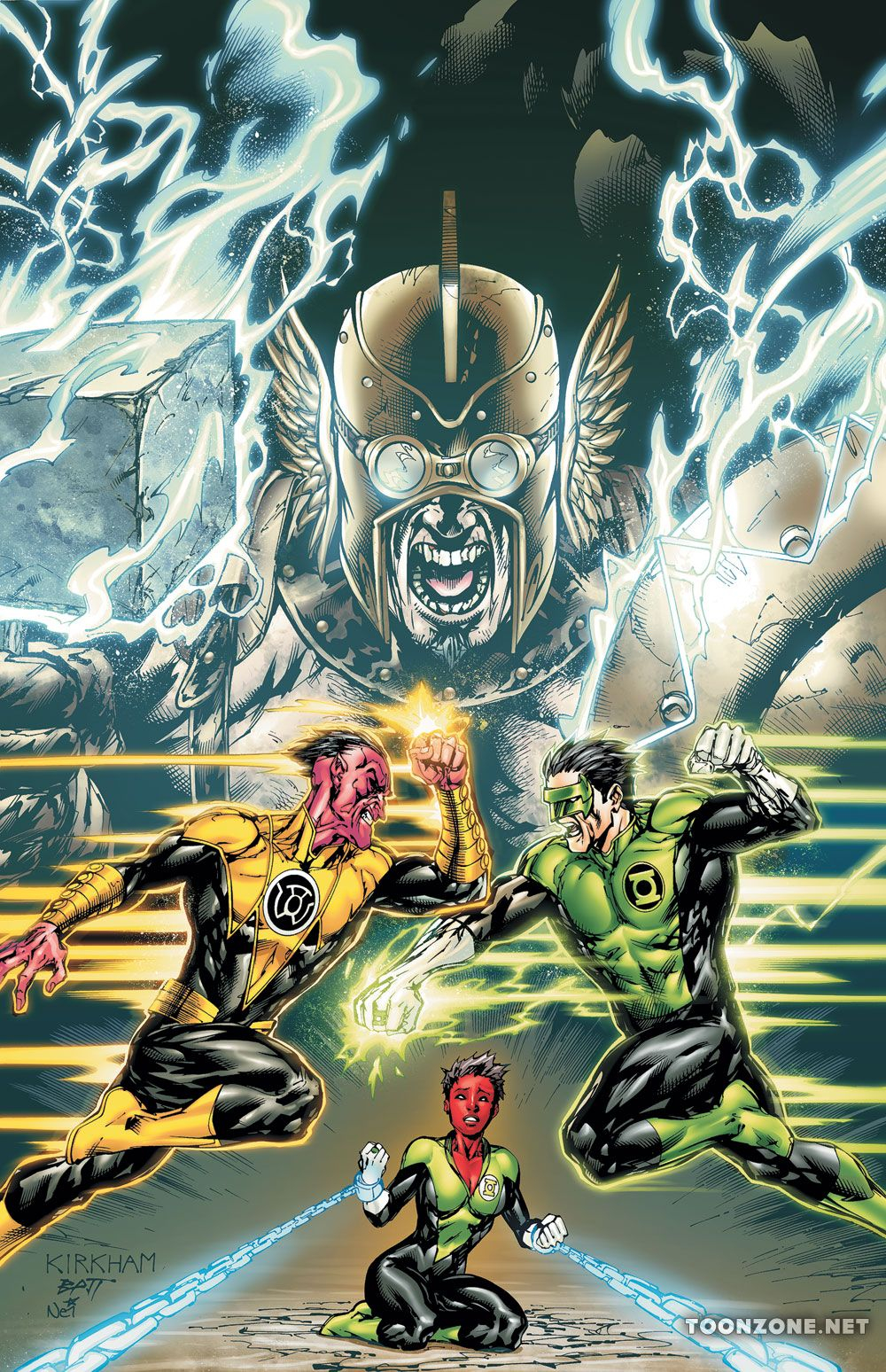 GREEN LANTERN CORPS: THE WEAPONER TP