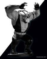 BATMAN BLACK AND WHITE: BANE STATUE BY KELLEY JONES