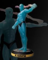 BEFORE WATCHMEN: DR. MANHATTAN STATUE