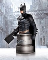 THE DARK KNIGHT RISES: BATMAN WITH EMP RIFLE