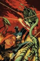 CAPTAIN AMERICA & BLACK WIDOW #638