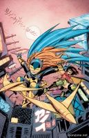 AME-COMI GIRLS: FEATURING BATGIRL #2