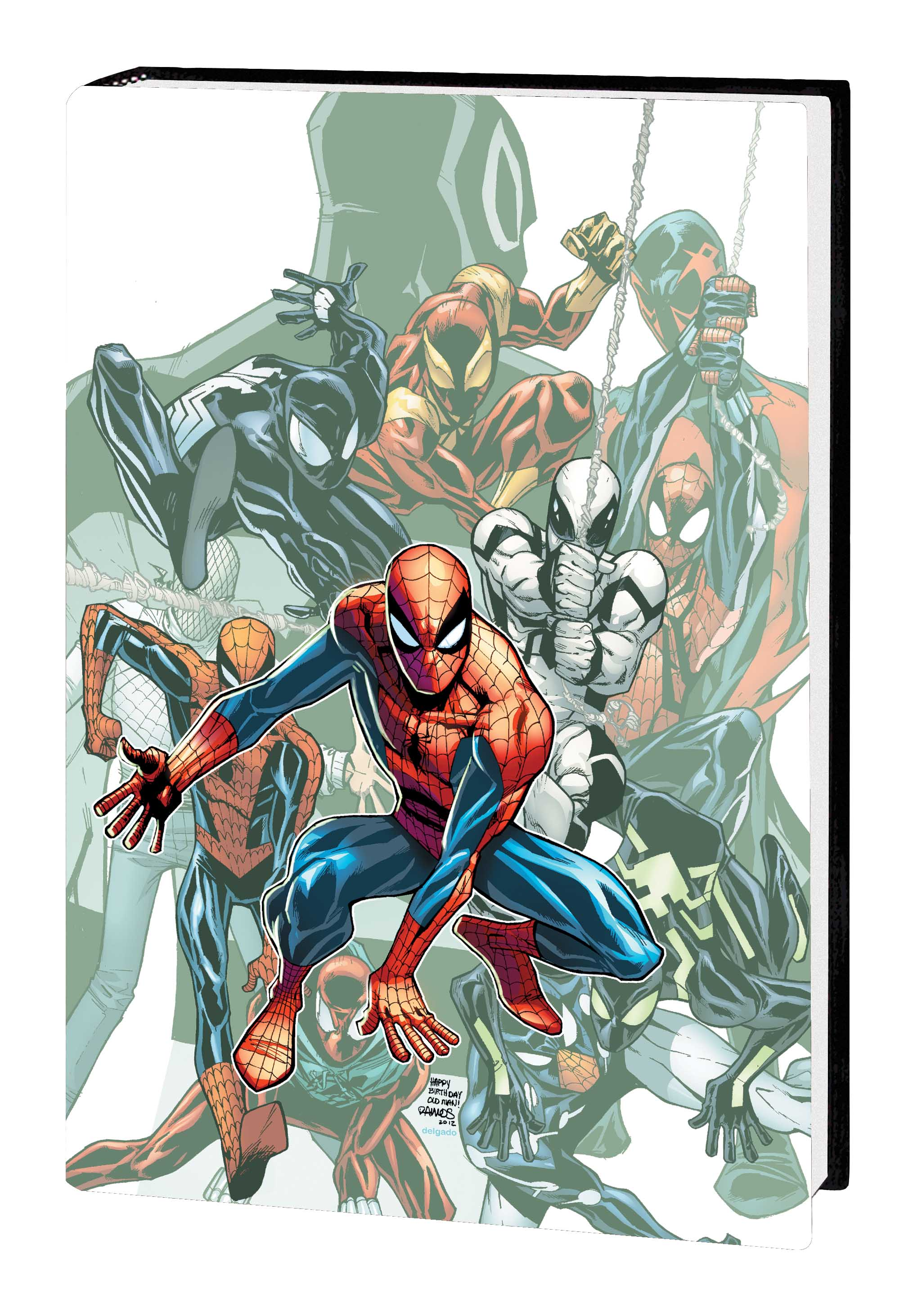 SPIDER-MAN: DANGER ZONE PREMIERE HC