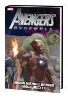 AVENGERS ASSEMBLE BY BRIAN MICHAEL BENDIS HC MOVIE COVER (DM ONLY)