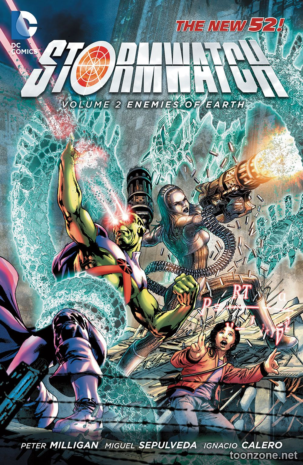 STORMWATCH VOL. 2: ENEMIES OF THE EARTH TP