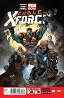 CABLE AND THE X-FORCE #3