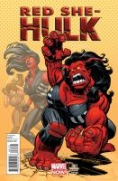 RED SHE-HULK #61 - Variant