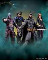 BATMAN: ARKHAM CITY: SERIES 4 ACTION FIGURES - GROUP
