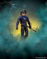 BATMAN: ARKHAM CITY: SERIES 4 ACTION FIGURES - NIGHTWING