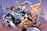 FANTASTIC FOUR #4 (Terry Dodson Variant Cover)
