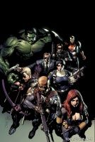 Secret Avengers #1 (Leinil Yu Variant Cover)