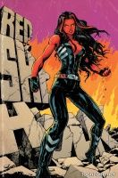 RED SHE-HULK #62 (Steve Lightle Variant Cover)