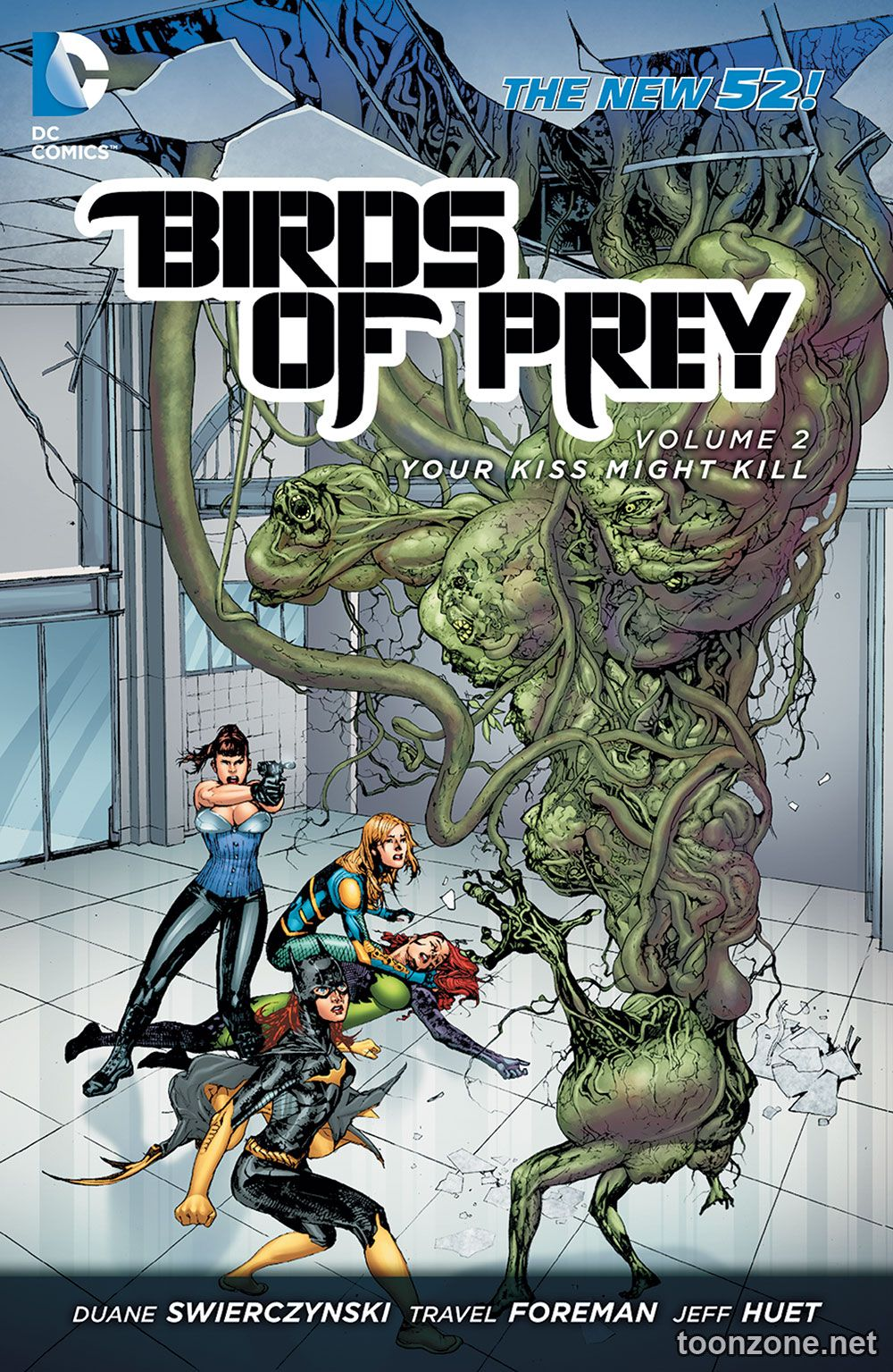 BIRDS OF PREY VOL. 2: YOUR KISS MIGHT KILL TP