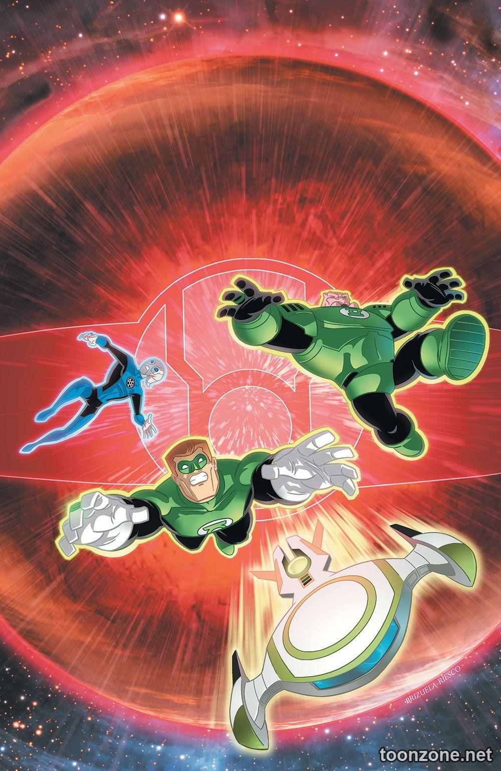 GREEN LANTERN: THE ANIMATED SERIES #12