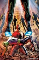 AGE OF ULTRON #3 (of 10) (Variant Cover)