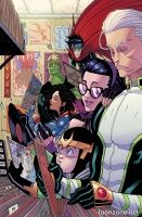 YOUNG AVENGERS #3 (Tradd Moore Variant)