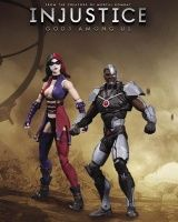INJUSTICE: GODS AMONG US ACTION FIGURES - CYBORG VS. HARLEY QUINN ACTION FIGURE 2-PACK