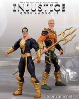 INJUSTICE: GODS AMONG US  AQUAMAN VS. BLACK ADAM ACTION FIGURE 2-PACK