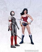 DC COMICS – THE NEW 52 WONDER WOMAN VS. KATANA ACTION FIGURE 2-PACK