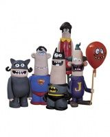DC NATION: AARDMAN ACTION FIGURE 5-PACK