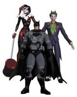 HUSH: THE JOKER, HARLEY QUINN, & STEALTH BATMAN ACTION FIGURE 3-PACK