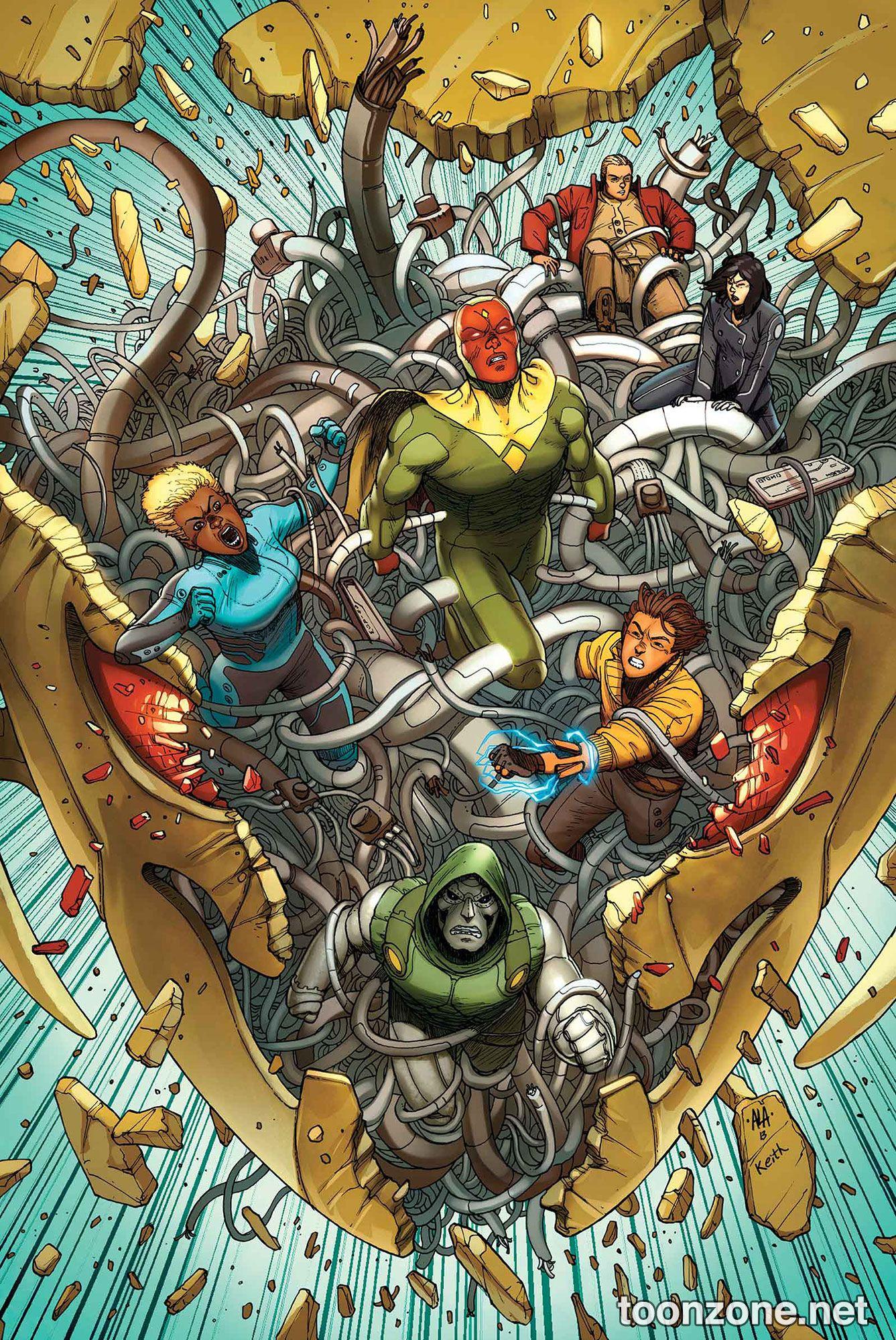 AVENGERS A.I. #1 (Variant Cover)