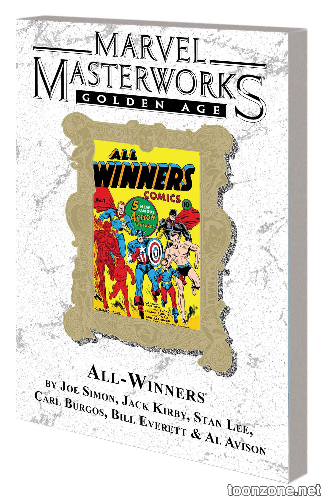 MARVEL MASTERWORKS: GOLDEN AGE ALL-WINNERS VOL. 1 TPB — VARIANT EDITION VOL. 55 (DM ONLY)