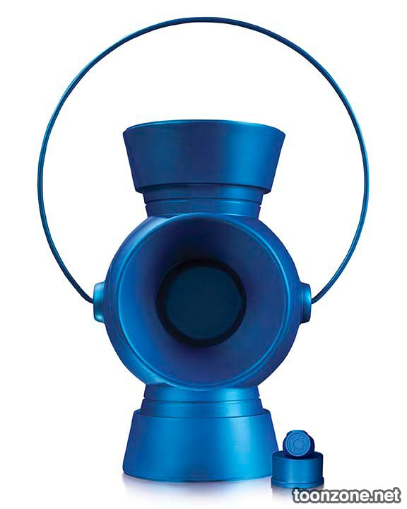1:1 SCALE BLUE LANTERN POWER BATTERY AND RING PROP REPLICA