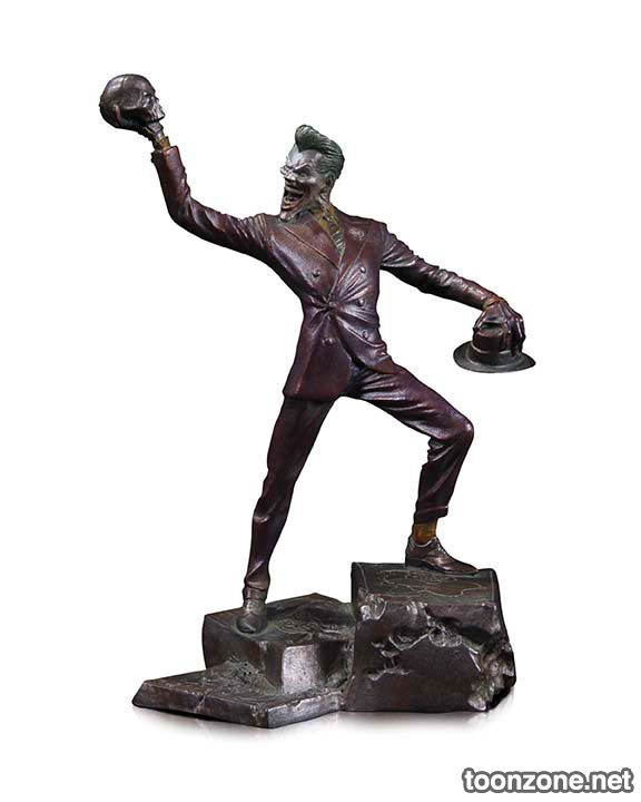 THE JOKER PATINA MINI STATUE