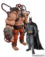 BATMAN: ARKHAM ASYLUM BANE VS. BATMAN ACTION FIGURE 2-PACK