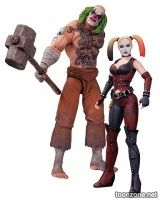BATMAN: ARKHAM CITY MR. HAMMER AND HARLEY QUINN ACTION FIGURE 2-PACK