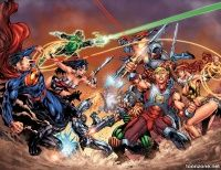 DC UNIVERSE VS. THE MASTERS OF THE UNIVERSE #1