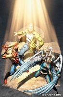 EARTH 2 VOL. 2: THE TOWER OF FATE HC